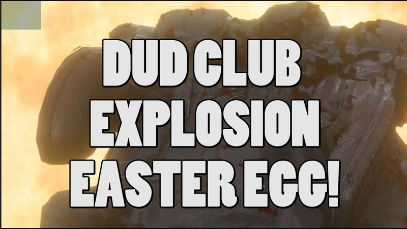 Dud club explosion Easter egg - Battlefield 1 (shown from all sides!)