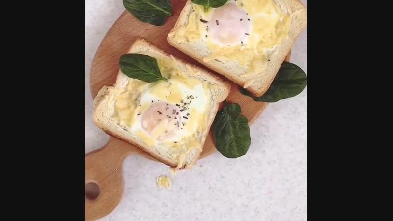 Вкусный и простой завтрак