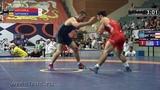 ЧР-18. Вольная. 86 кг. 1/4 финала. Даурен Куруглиев - Радик Нартикоев