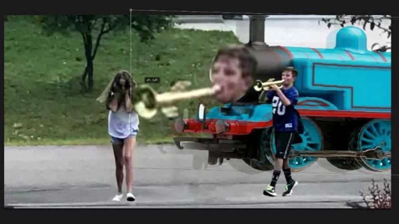 Trumpet boy the tank engine