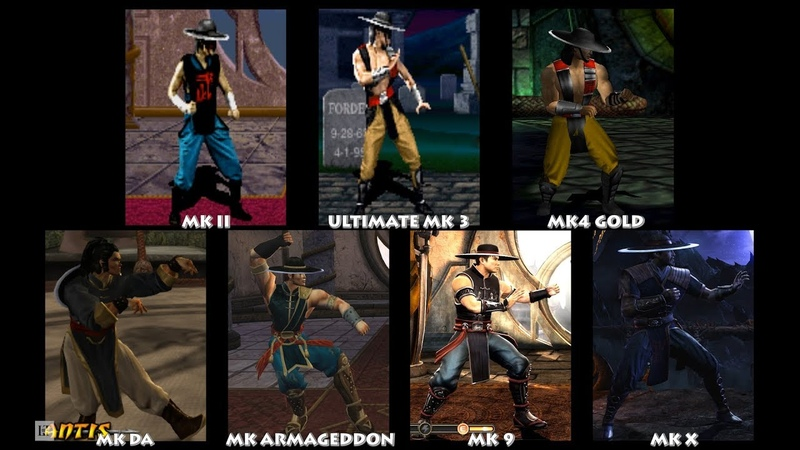 Mortal Kombat KUNG LAO Graphic Evolution 1993-2015   ARCADE PSX DREAMCAST PS2 XBOX PC   PC ULTRA