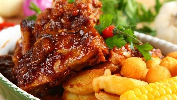 сочные свиные ребрышка рецепт