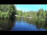 КАРЕЛИЯ. Водопад Ахвенхоски, где снимался фильм