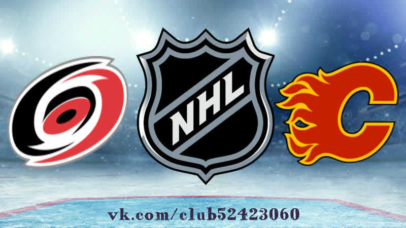 Carolina Hurricanes vs Calgary Flames | 22.01.2019 | NHL Regular Season 2018-2019