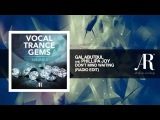 Gal Abutbul feat Phillipa Joy - Don't Mind Waiting (Edit) Vocal Trance Gems Vol. 2