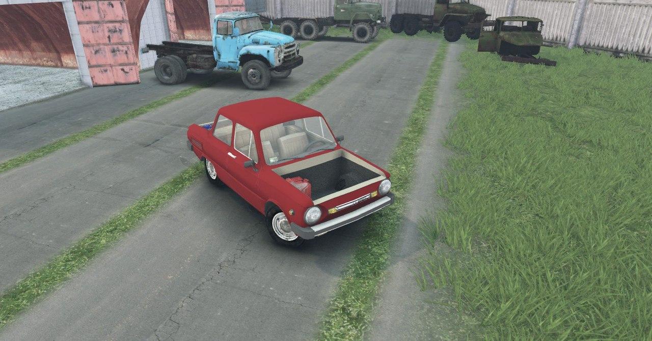 ЗаЗ 968М для Spintires - Скриншот 1