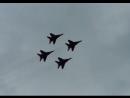 Показательные выступления авиационной группы высшего пилотажа Военно-воздушных сил РФ «Стрижи»; 6 октября 2018