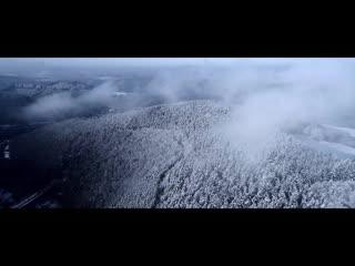 Морозное утро в горах (russia, the ural mountains)