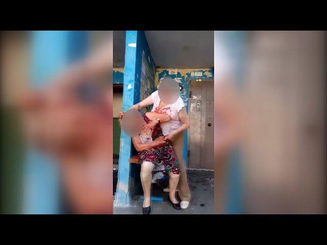 Житомирські пенсіонерки розповіли, чому влаштували криваву бійку