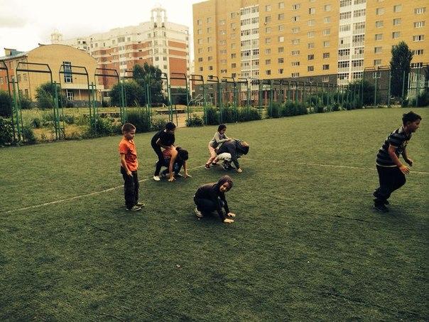 спорт в лагере