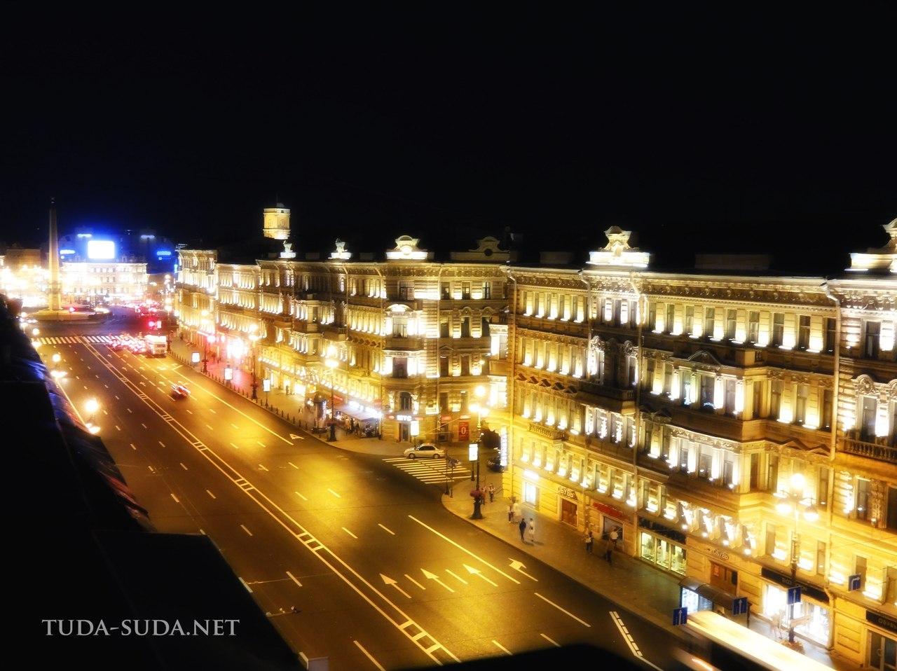 Невский проспект вид с крыши