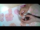 Мастер-Класс Как создать пионовидную розу из фоамирана. Часть 1.