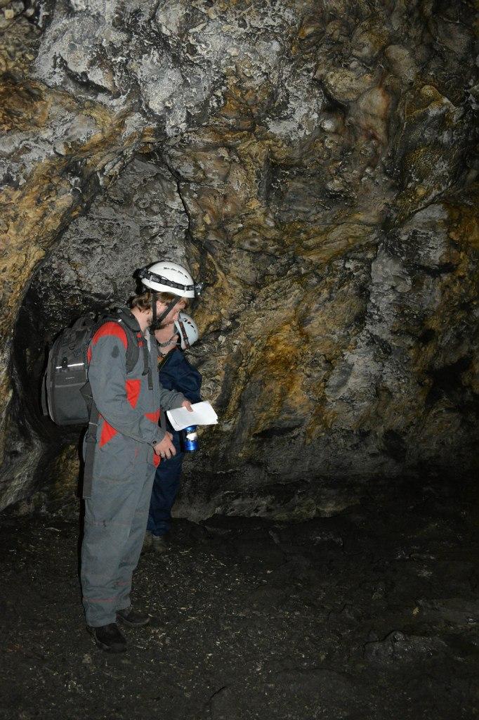 В пещере Колокольная (20.12.2015)