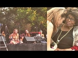 Paris Jackson perfoming live at Canyon Sessions with Soundflowers band