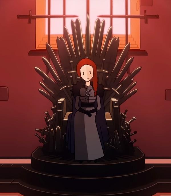 Санса Старк вReigns: Game of Thrones