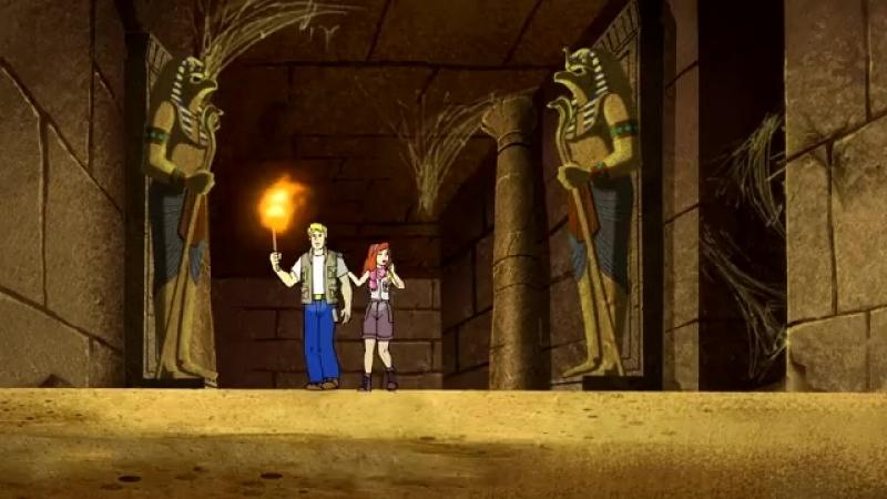 Смотреть мультфильм Скуби Ду Где моя мумия