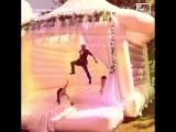 Bouncy houses for weddings are the most fun way to say I do