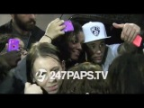 (New) (Exclusive) Justin Bieber Leaving Hotel stopped for fans before leaving NYC 05-16-14