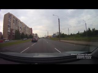 Инфинити устроил ДТП 26.07.2018