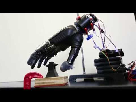 Hopkins researcher develops electronic sensory glove for prosthetics