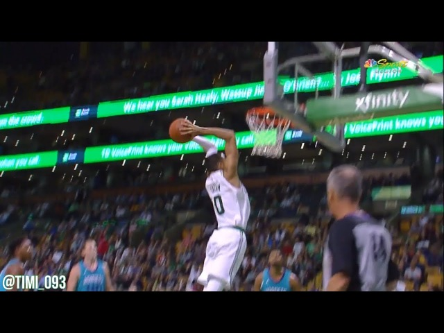 Jayson Tatum CELTICS DEBUT Highlights vs Charlotte Hornets (9 pts, 5 reb, 5 ast)