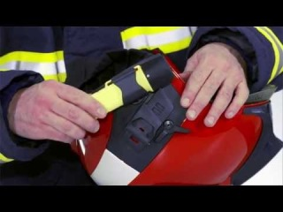 Firefighter's helmet Dräger HPS 7000: Fitting and adjusting the accessories