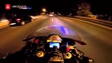 CBR 1000RR - CRAZY DRIVER RIDING @ Night