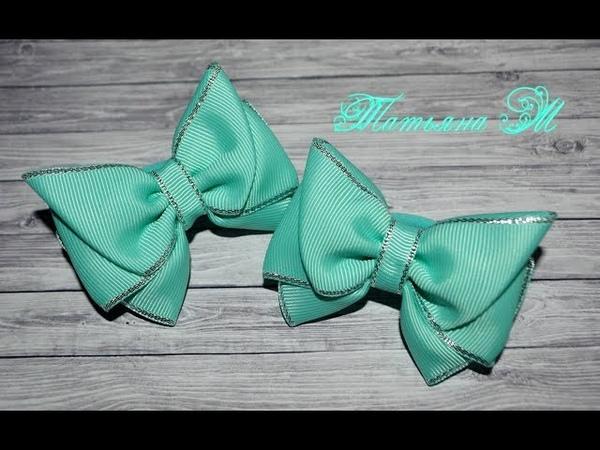 МК Бантик-бабочка из ленты 4 см MK Bow-tie ribbon, 4 cm