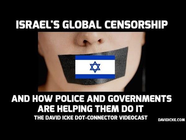 La campagne contre l 'antisémitisme est une foutaise de plus /Israel's Global Censorship How Police Governments Are Helping Them Do It