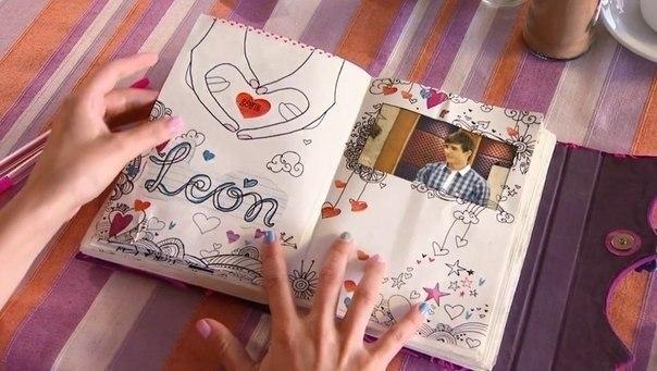 Как сделать дневник виолетта своими руками