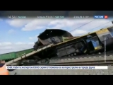 В Новосибирской области столкнулись два товарняка - Россия 24