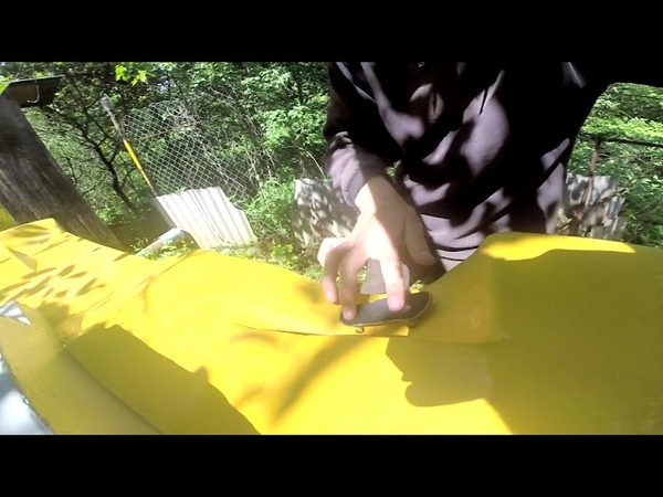 Systeam Fingerboards: Zharkov Sergey - 'Yellow Plaza'