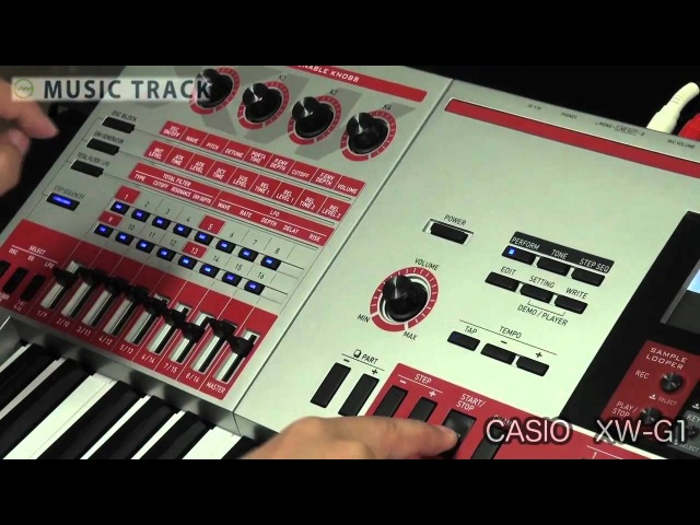 【DEMO】CASIO XW-G1
