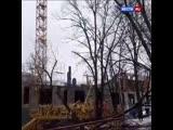 Опубликованы кадры с места падения строительного крана на северо-востоке Москвы.