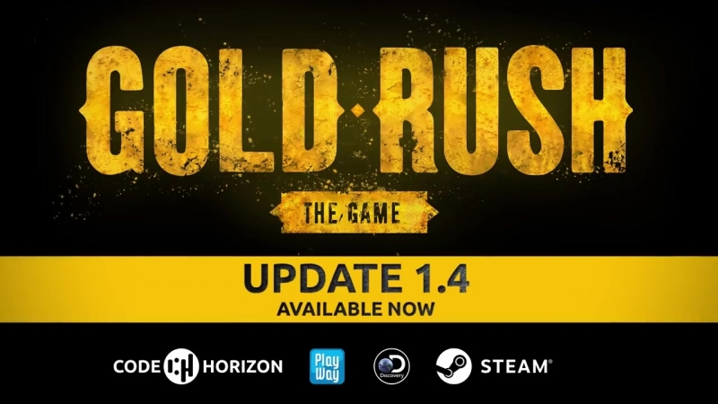 Gold Rush The Game Update 1 4 Release Trailer