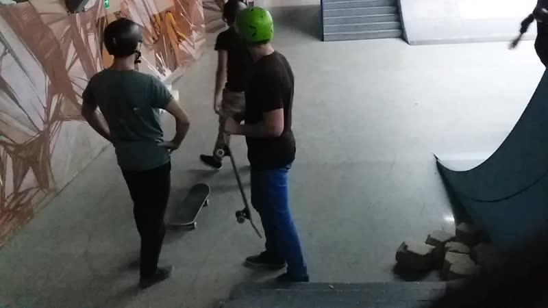 Ramses on skate - nollie fs 360 shove-it 29.10.2018