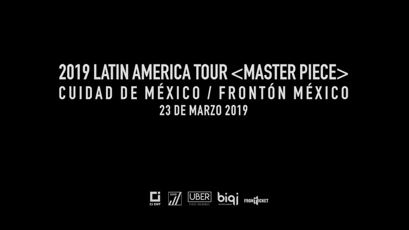 2019 KIMHYUNGJUN WORLDTOUR (MASTER PIECE) Message For Mexico