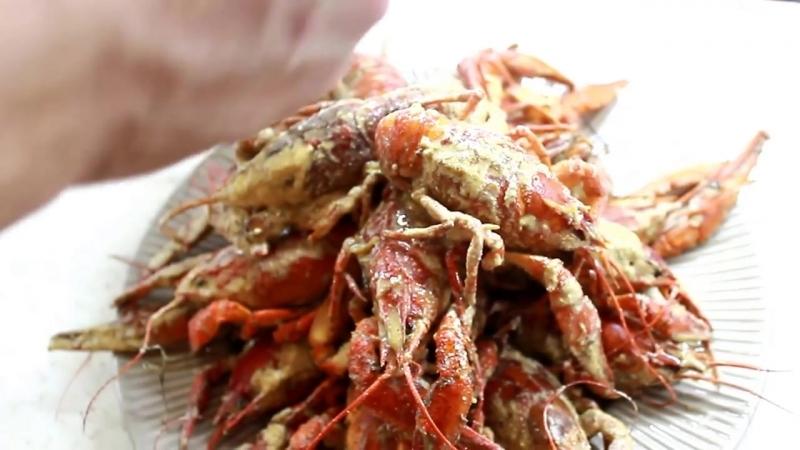 Жареные раки в сливочном соусе рецепт ✪ Как приготовить раков - How To Cook Craw