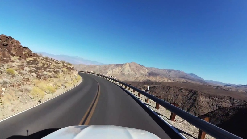 En route to Death Valley National Park