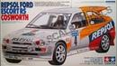 Обзор Repsol Ford Escort RS Cosworth Tamiya 1/24 (сборные модели)
