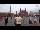 中国大妈红场跳舞遭驱逐