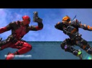 Дэдпул против Дэфстроук Смертельный бой Deadpool VS Deathstroke DEATH BATTLE