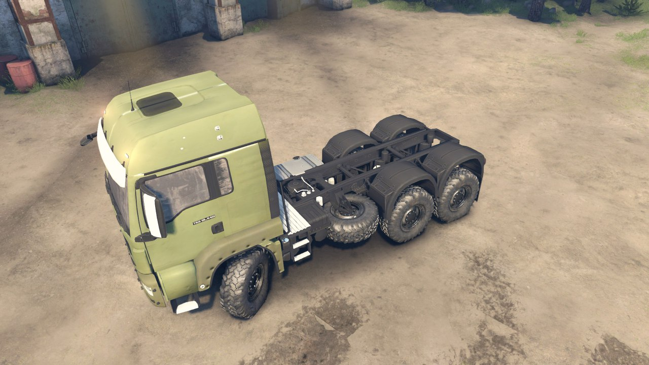 MAN 12.5L для Spintires - Скриншот 2