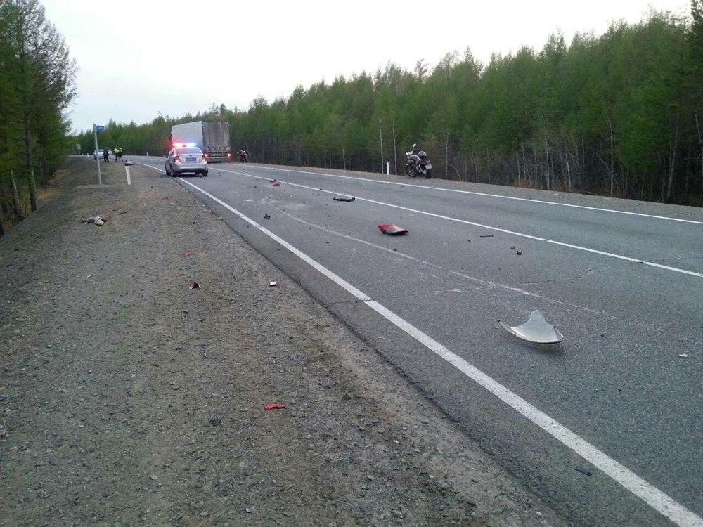 В Чите разбился угонщик мотоцикла (10 мая)