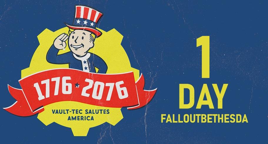 До выхода Fallout76 меньше одного дня!