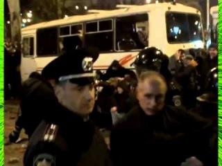 ДОНЕЦК 13 марта бандеровцев чуть не разорвали