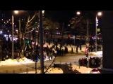 Разгон Евродаунов в Харькове 25.01.14