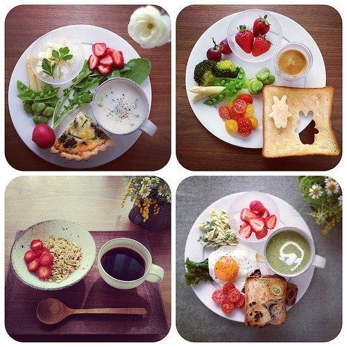 Завтрак правильного питанияы с фото
