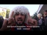 Как Дагестан отмечал победу Хабиба Нурмагомедова