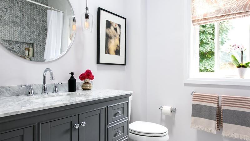 Gorgeous Bathroom Renovation | Small Bathroom Design Ideas || House Home